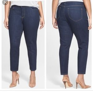 NYDJ Relaxed Ankle Jeans plus Size